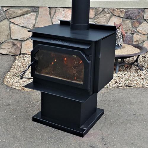 Powder Coated Fireplace