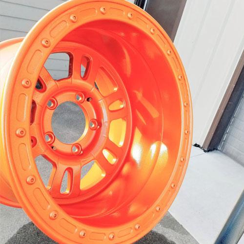 Powder Coated Wheel Hubs